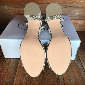 Steve Madden Shoes - Steve Madden Snakeskin Heels